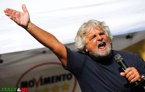 Итальянский политик Грилло