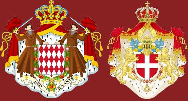 Герб королевской семьи