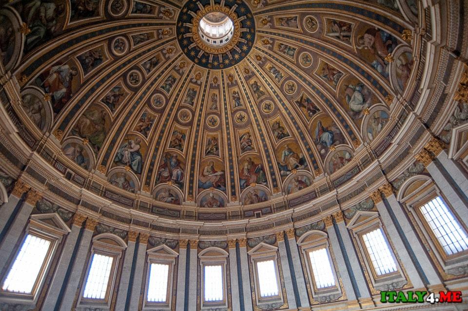 Купол собор святого Петра в Ватикане