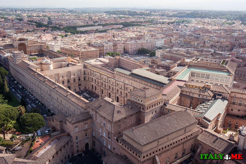 Ватикан вид сверху