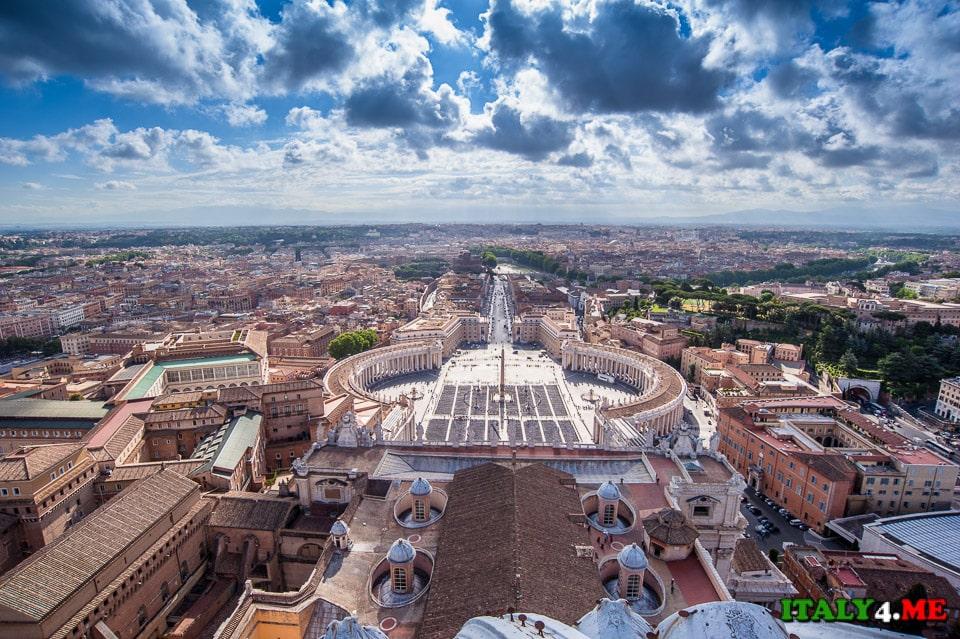 лучший вид на Рим