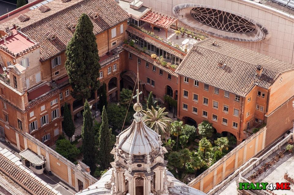 сад в Ватикане