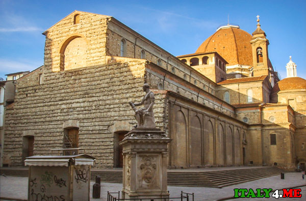 базилика Святого Лаврентия Флоренция