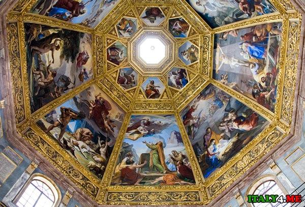 Cappella_Dei_Principi купол