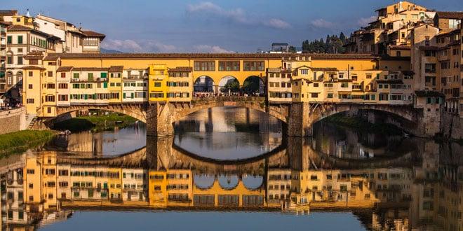 золотой мост флоренция фото