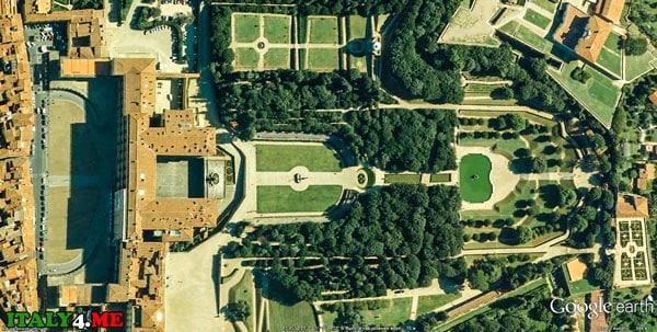 палаццо Питти и сады Боболи во Флоренции