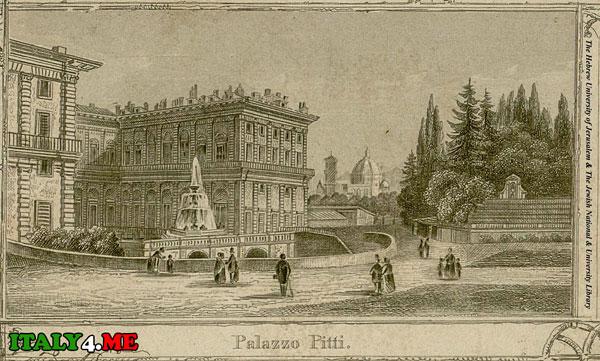 Дворец Питти во Флоренции 15 век