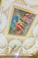 Роспись на потолке в Галерее Боргезе