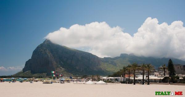 Пляж San Vito Lo Capo на Сицилии