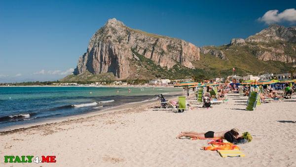 Пляж Сан Вито ло Капо на Сицилии