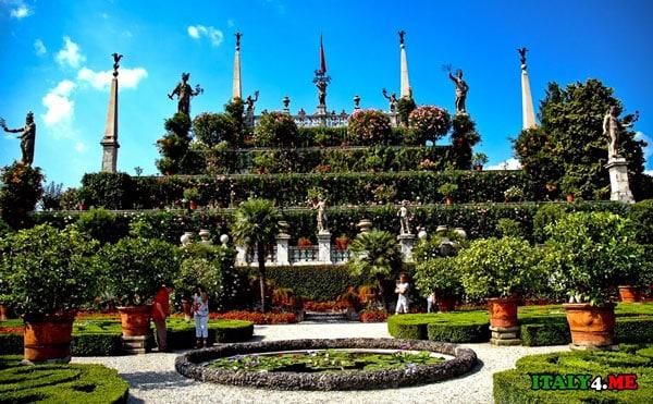 барочный сад в Италии