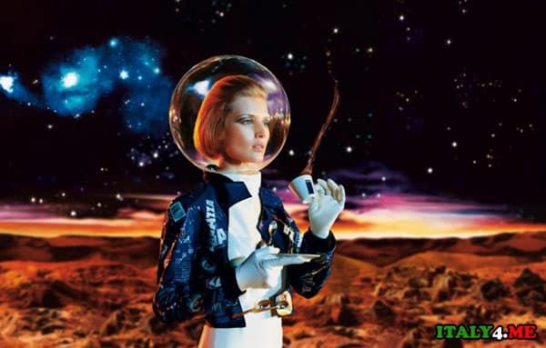 кофе в космосе