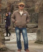 Манучар Кублашвили грузин в Помпеи