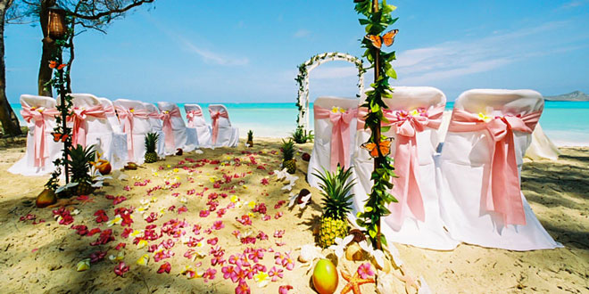 Рим пляж свадьба
