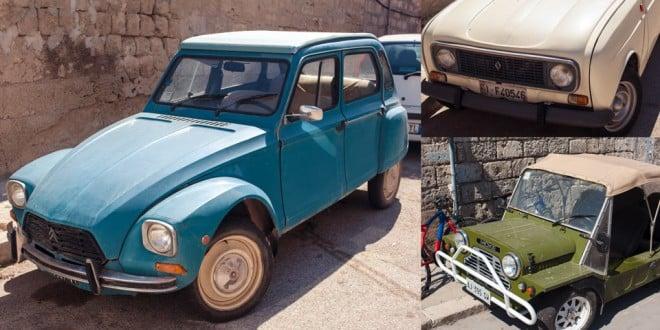 старинные автомобили Италия