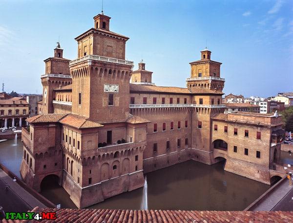 замок-castello-estense-Феррара
