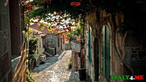 лето в Италии город