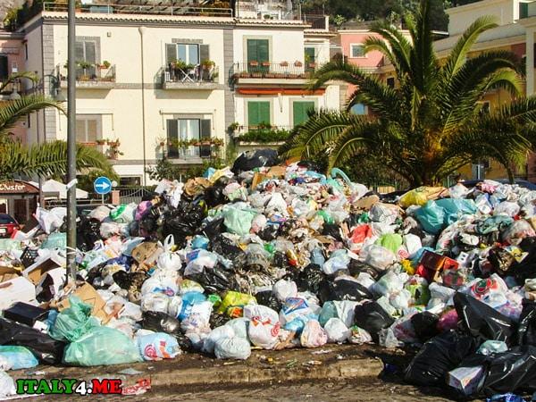 мусор-в-Италии