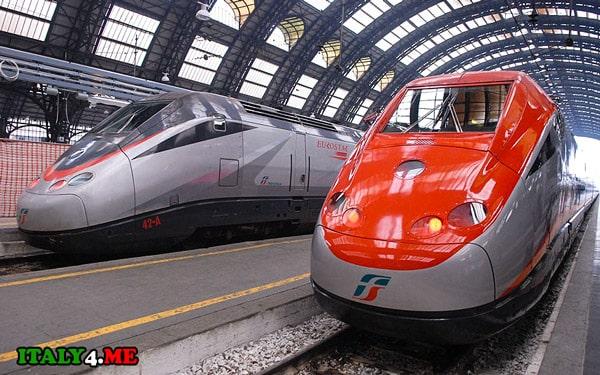 поезд-Рим-Милан