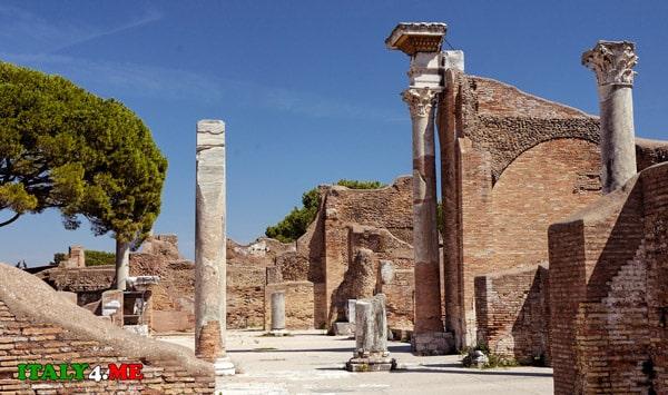 римские-гробницы-остия-2