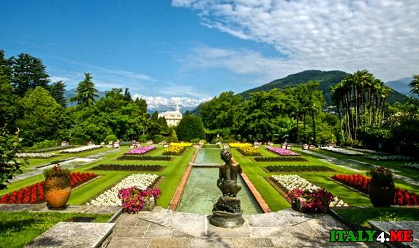 Villa-Taranto озеро-Маджоре ботанический сад