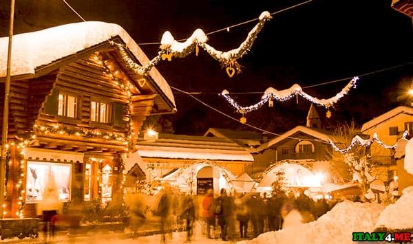 горнолыжный курорт Курмайор в Италии