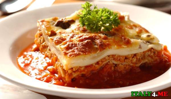 Лазанья-блюдо-итальянской-кухни