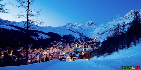 горнолыжный курорт Мадезимо в Италии