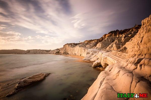Пляж-Scala-dei-Turchi-Риальмонте-Сицилия-1