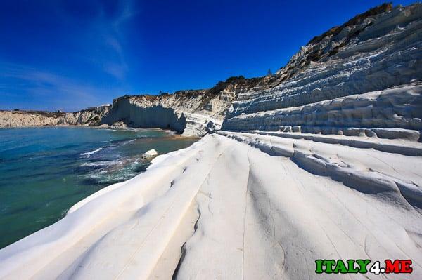 Пляж-Scala-dei-Turchi-Риальмонте-Сицилия