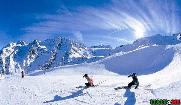 горнолыжный курорт Соуз-д'Улькс в Италии