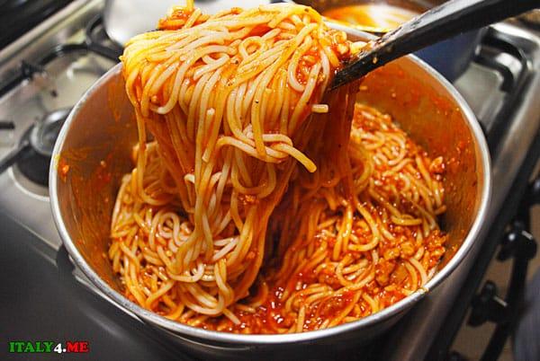 Спагетти-паста