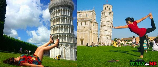 Идея фото с пизанской башней поездка из Рима на день