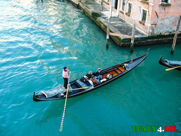 гондола-Венеция