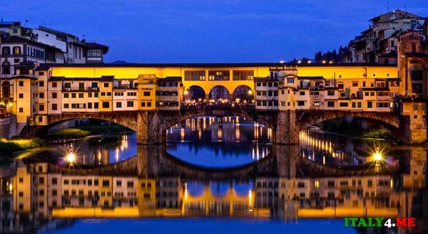понте-веккьо-Флоренция-туристы