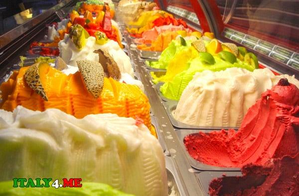 Джелато итальянское мороженное