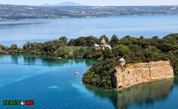 Озеро-Больсена-Италия-1