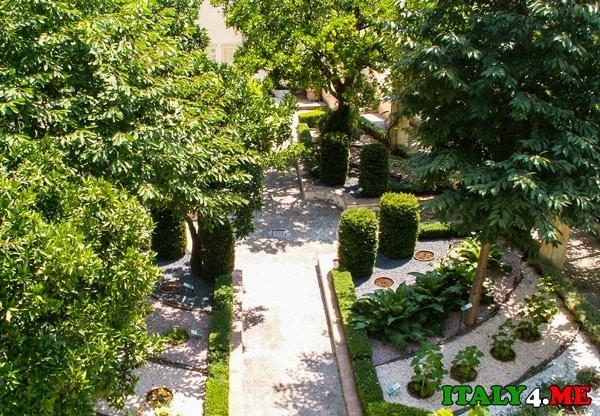 Сад Минервы в Салерно