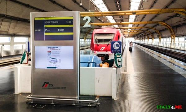 скоростной-поезд-экспресс-Леонардо-аэропорт-Фьюмичино-Рим