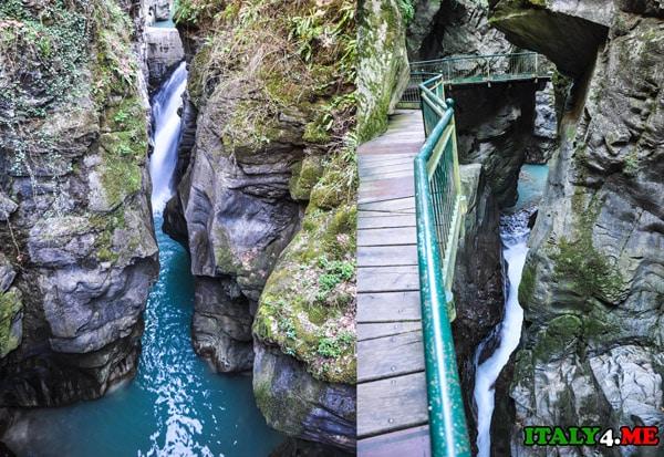 Беллано-водопад