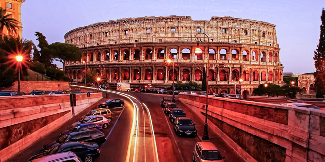 Арена римского колизея