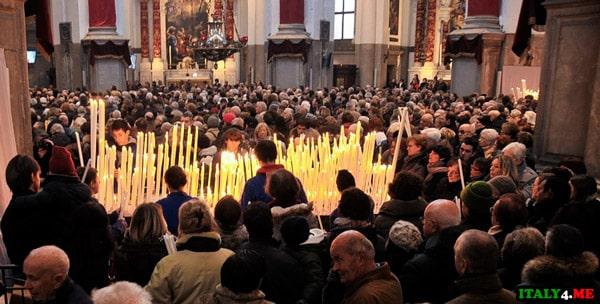 Праздник Святой Мадонны делла Салюте в Венеции