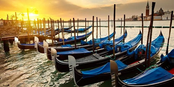 Как называются лодки в Венеции?