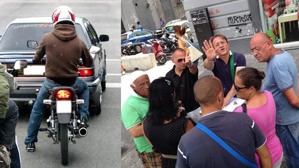 Воры на скутере и наперсточники в Неаполе