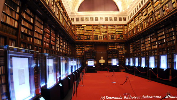 Библиотека Амброзиана рукописи и книги