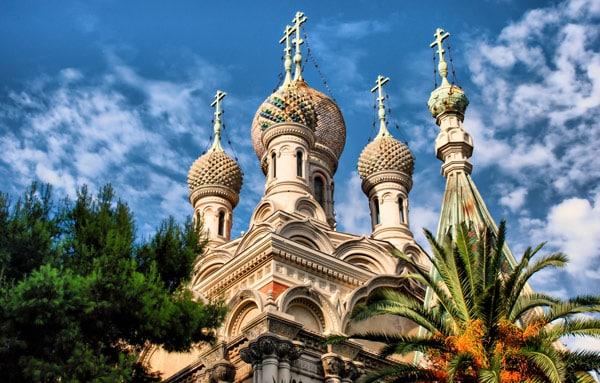 Русская церковь в Сан-Ремо Храм Христа спасителя
