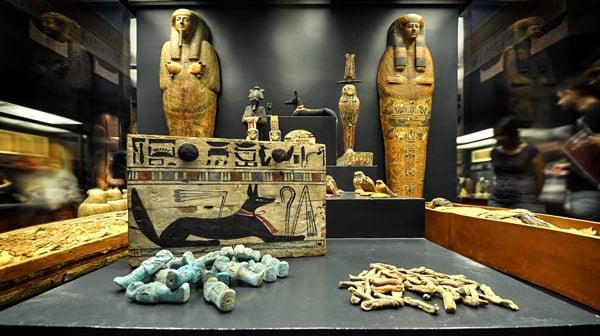 Григорианский Египетский музей скульптуры экспонаты