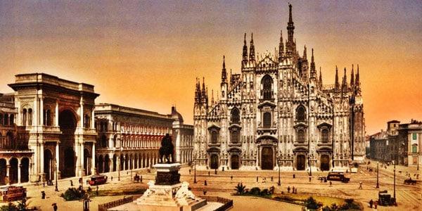 Милан италия фото
