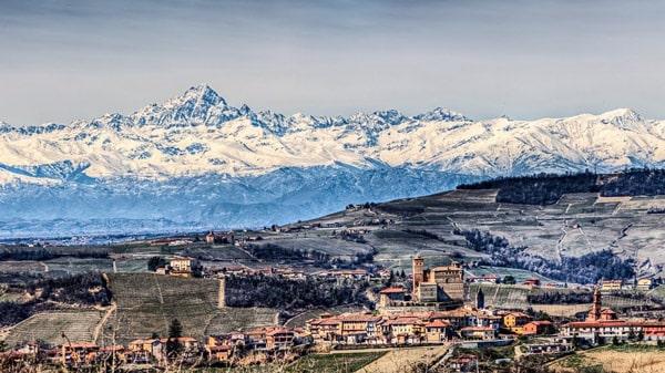 Горы в регионе Италии Пьемонт