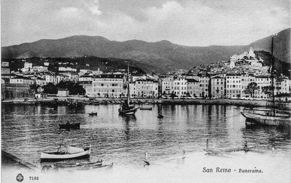 Сан-Ремо в начале 20 века